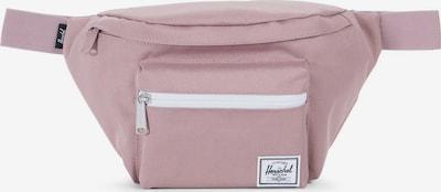 Herschel Sacs banane 'Seventeen' en rosé / blanc, Vue avec produit