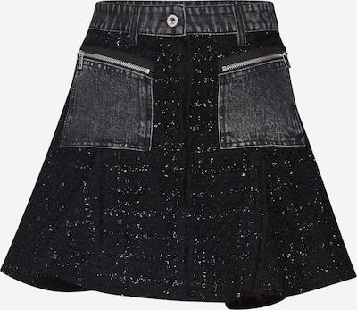 DIESEL Rock 'O-NYELA SKIRT' in schwarz, Produktansicht