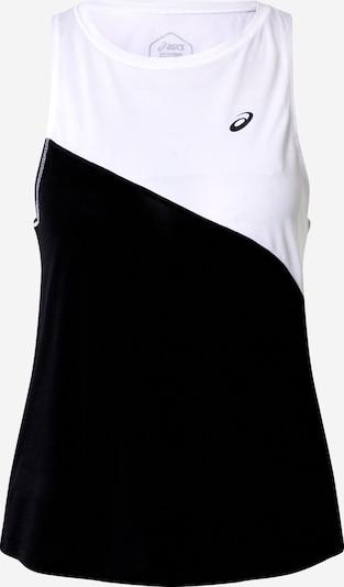ASICS Haut de sport 'TOKYO TANK' en noir / blanc, Vue avec produit