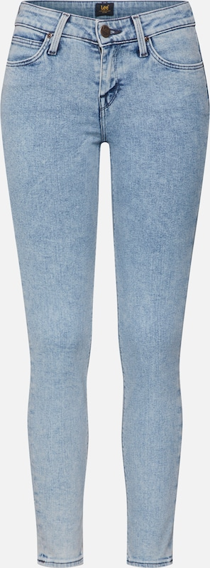 Lee Jeans in blau: Frontalansicht