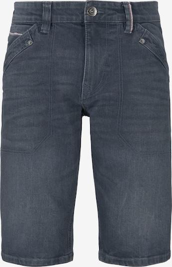 TOM TAILOR Bermuda Jeans 'Josh' in taubenblau, Produktansicht