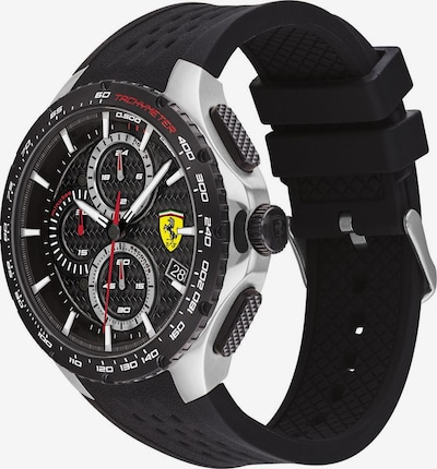 Scuderia Ferrari Sportuhr in schwarz, Produktansicht