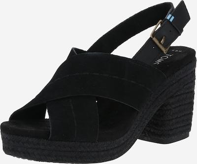 TOMS Sandale 'IBIZA' in schwarz, Produktansicht