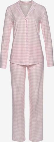 VIVANCE Pyjama 'Dreams' in Pink