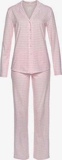 VIVANCE Pidžama 'Dreams', krāsa - gaiši rozā / balts, Preces skats