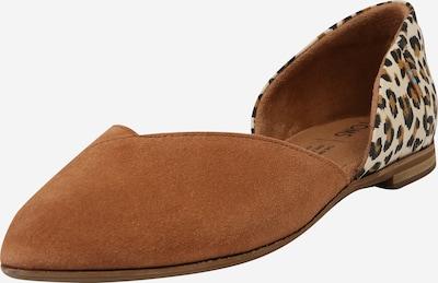 TOMS Slipper 'JULIE D ORSAY' in beige / braun, Produktansicht