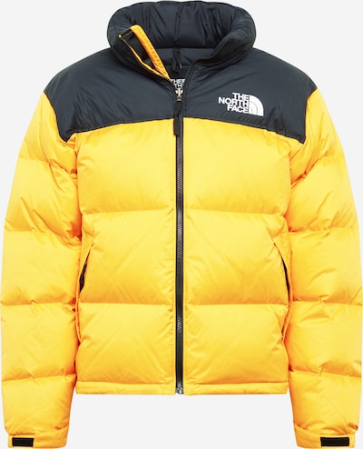 THE NORTH FACE Winterjas '1996' in de kleur Donkerblauw / Geel, Productweergave