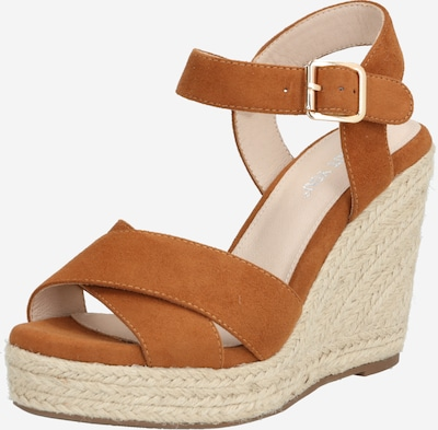 ABOUT YOU Sandalette 'Juna' in camel, Produktansicht