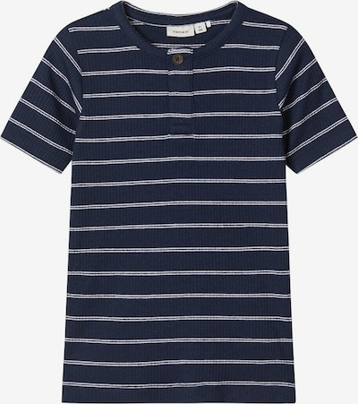 NAME IT Shirt in blau / weiß, Produktansicht