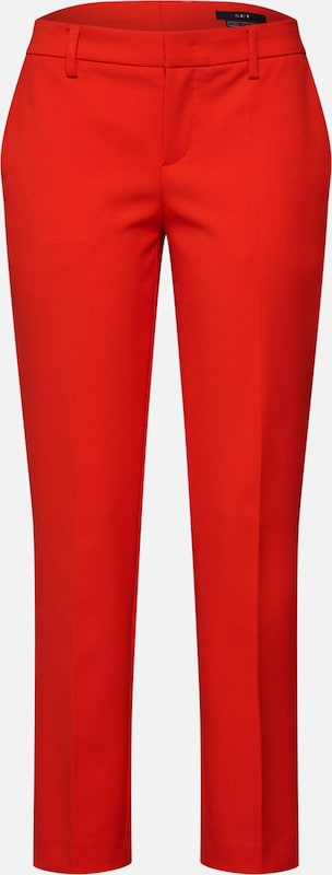 SET Pantalon à plis en rouge: Vue de face
