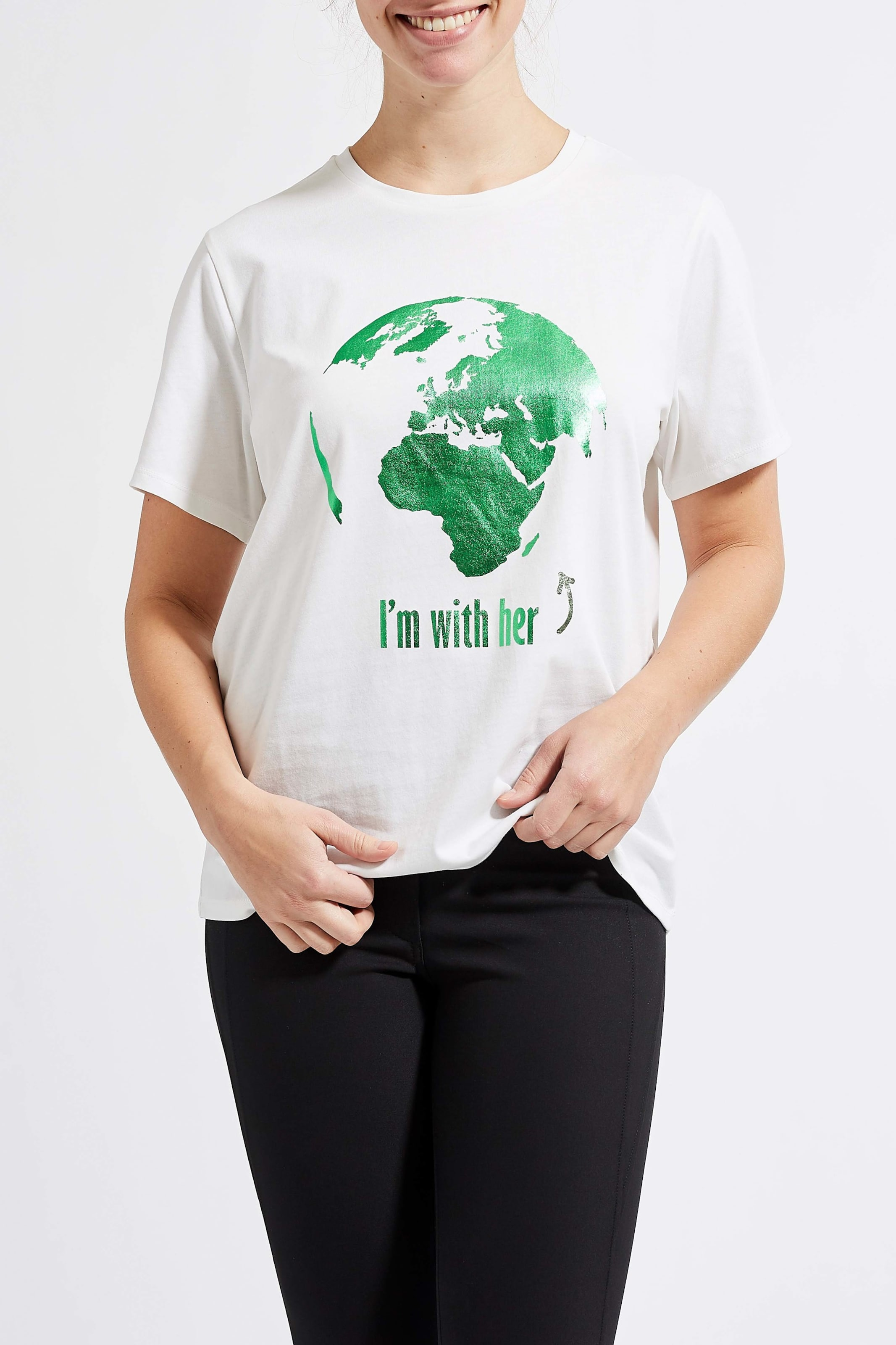 Weiß Earth' 'lovely Laurie shirt In T H9EDI2