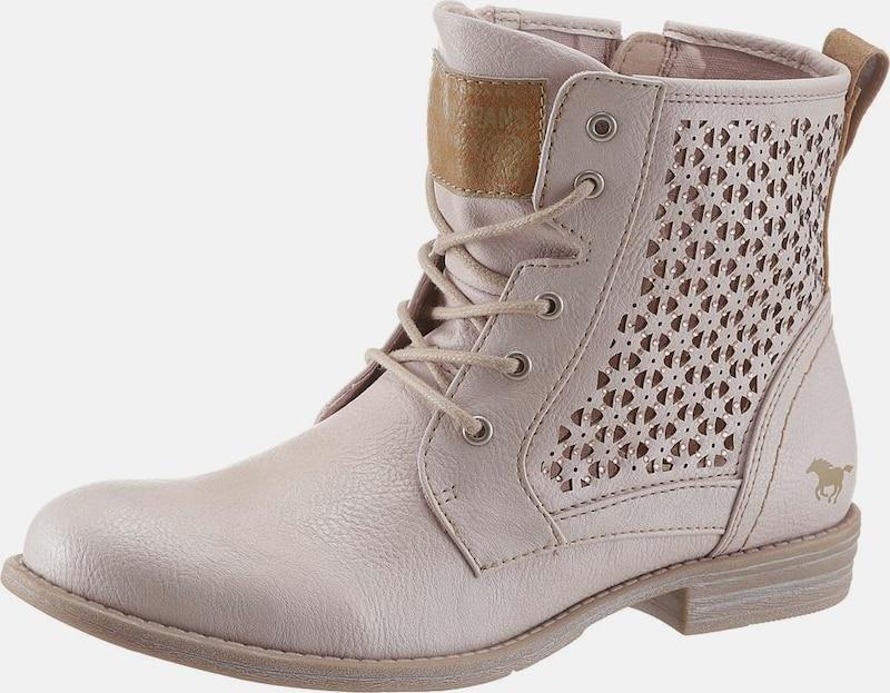 MUSTANG Schnürstiefelette Günstige und langlebige Schuhe