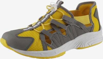 CITY WALK Sneaker in gelb / grau, Produktansicht