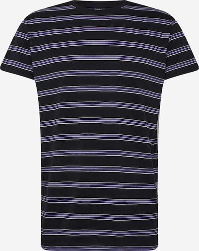 Urban Classics Shirt in grau / lila / schwarz, Produktansicht