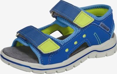 RICOSTA Open schoenen 'Remo' in de kleur Blauw / Grijs / Lichtgroen, Productweergave
