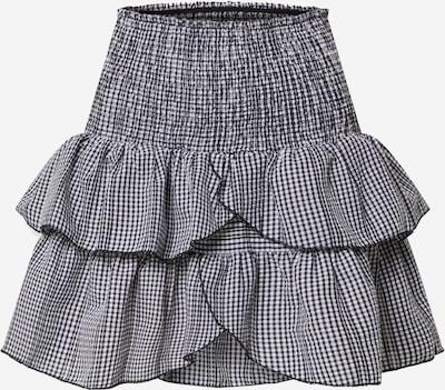 Neo Noir Rock 'Carin Mini Check Skirt (part of group)' in schwarz, Produktansicht