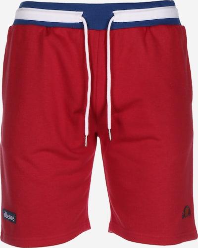 ELLESSE Shorts ' Ridere Fleece ' in rot / weiß, Produktansicht