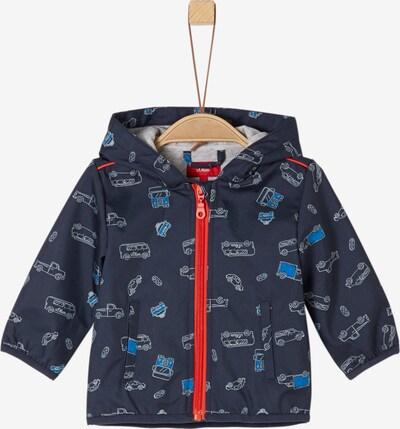 s.Oliver Junior Jacke in nachtblau / orangerot / weiß, Produktansicht