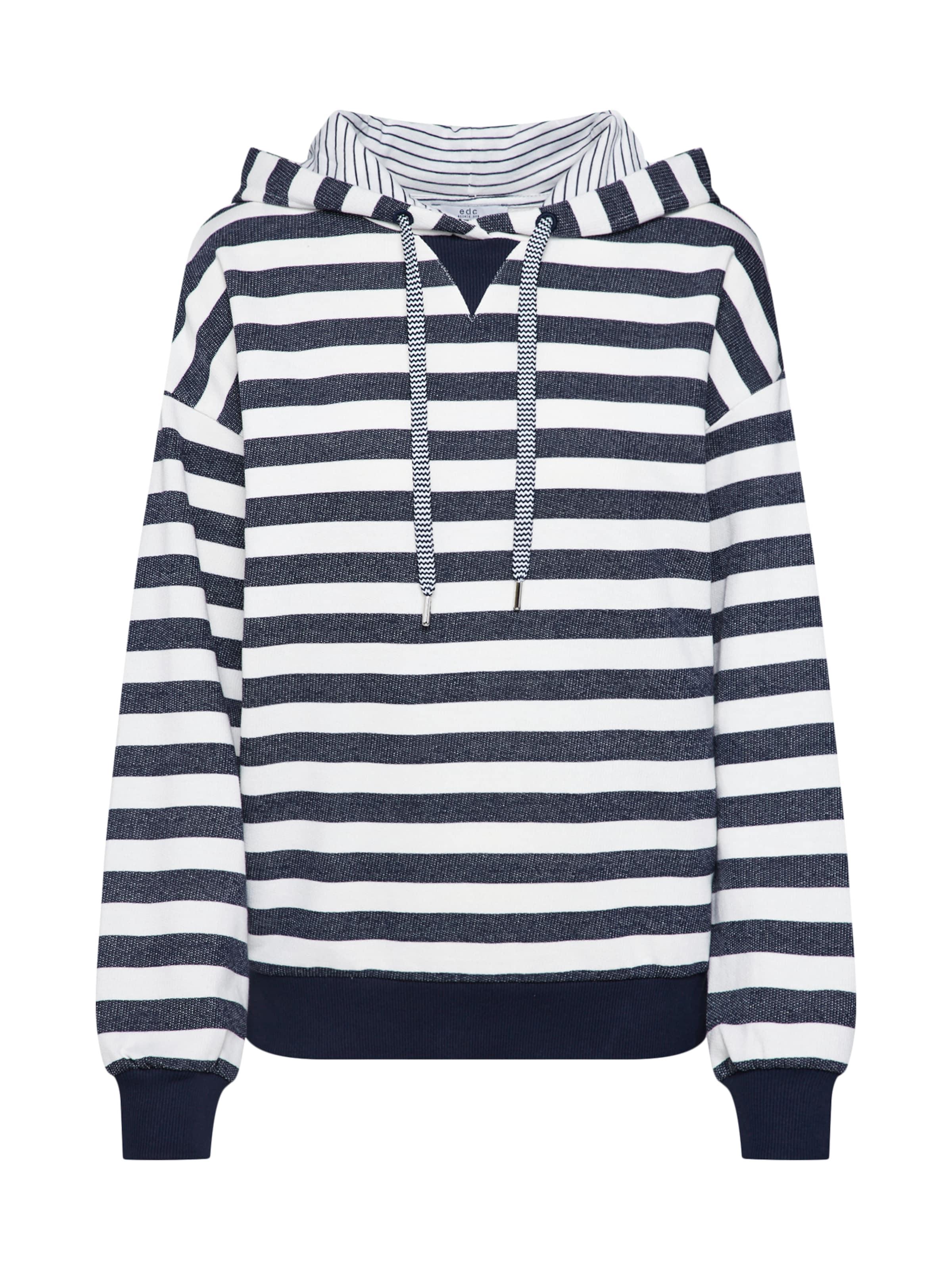 shirt Esprit En CrèmeBleu Edc Sweat Marine By FKc3l1TJ