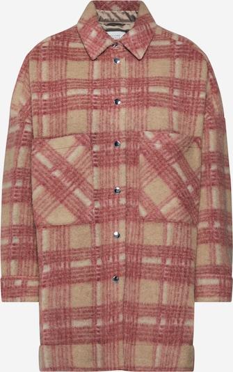 SECOND FEMALE Damen - Jacken & Mäntel 'Aron Shirt Jacket' in rot, Produktansicht