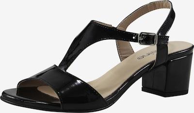 heine Sandalette in schwarz, Produktansicht