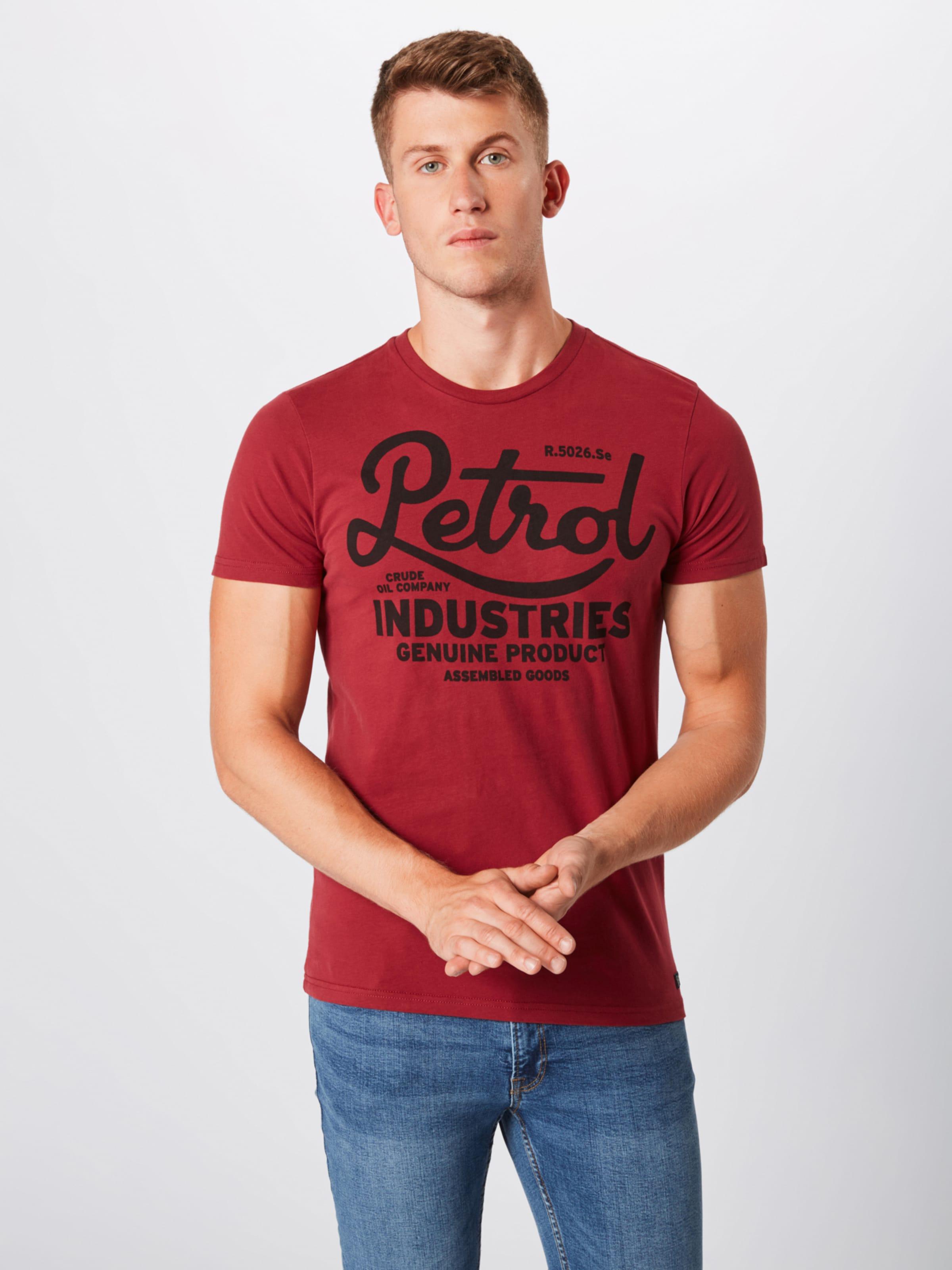 Shirt Industries Petrol Shirt RoodZwart In Industries Petrol EHID29