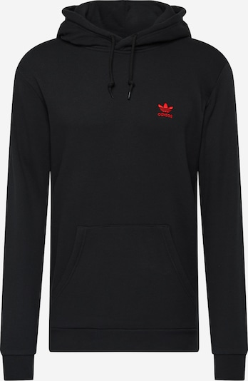 ADIDAS ORIGINALS Sweatshirt 'Essential' in rot / schwarz, Produktansicht