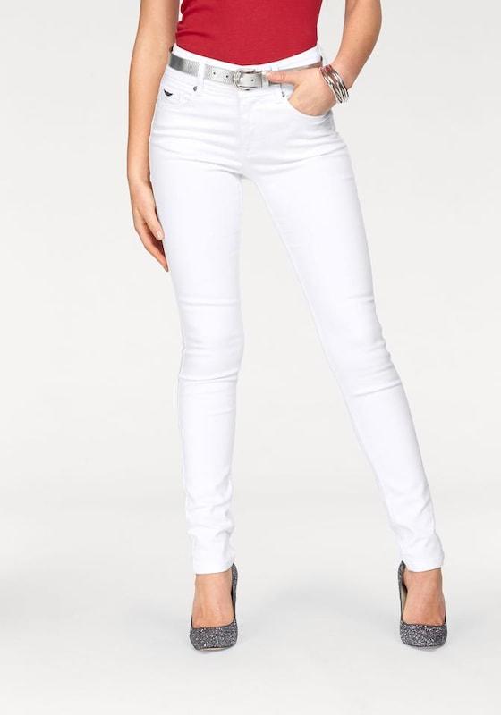 ARIZONA Röhrenjeans Bauch-Weg-Jeans mit klassischer Leibhöhe