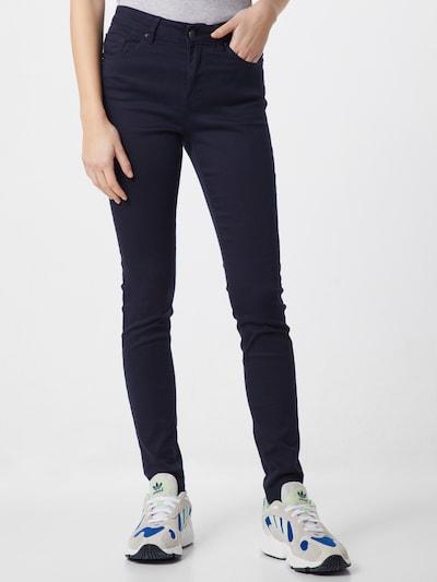VERO MODA Hosen 'SLIM PUSH UP PANTS' in nachtblau, Modelansicht