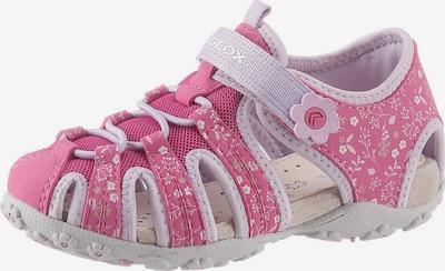 GEOX Kids Sandale 'Roxanne' in pastelllila / pink, Produktansicht