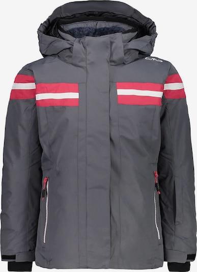 CMP Jacke in grau / hellrot / weiß, Produktansicht