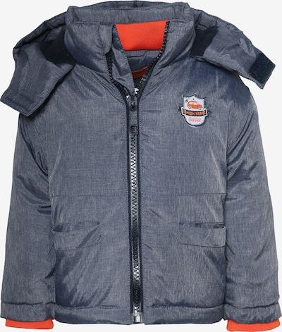 LEMON BERET Winterjacke in taubenblau / orangerot / weiß, Produktansicht