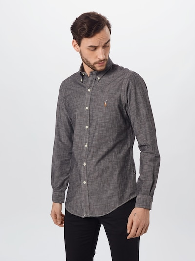 POLO RALPH LAUREN Zakelijk overhemd in de kleur Lichtgrijs, Modelweergave