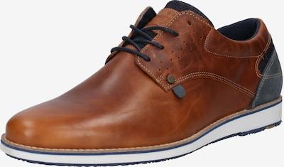BULLBOXER Buty sznurowane w kolorze niebieski / koniakowym, Podgląd produktu