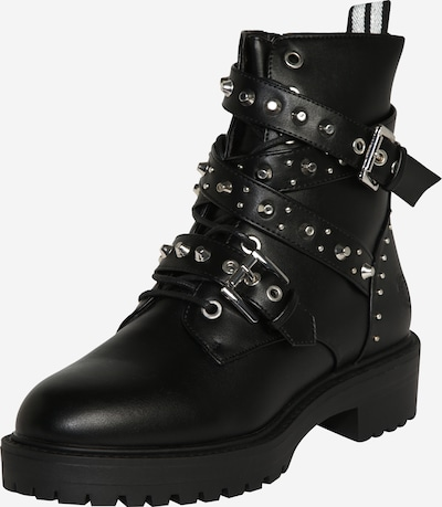 BULLBOXER Boots in black / silver, Item view