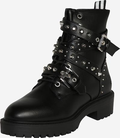 BULLBOXER Boots in schwarz / silber, Produktansicht