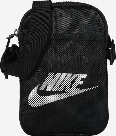 Geantă de umăr 'Heritage' Nike Sportswear pe negru / alb, Vizualizare produs