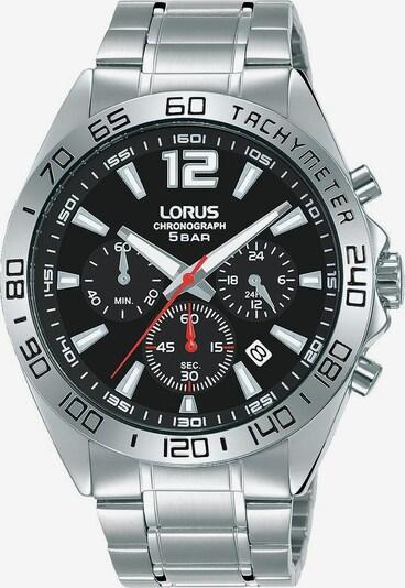 LORUS Chronograph 'Sport, RT333JX9' in schwarz / silber, Produktansicht