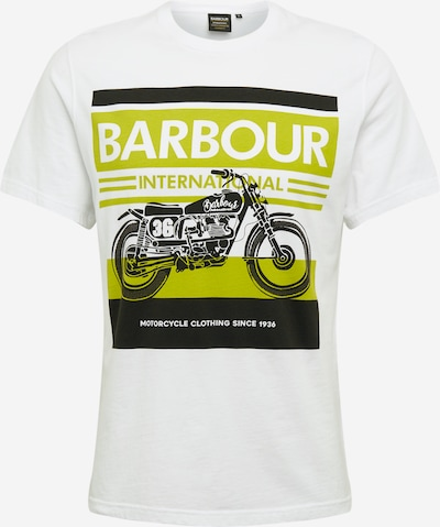 Barbour International T-Shirt 'B.Intl Burn Tee White' en blanc, Vue avec produit