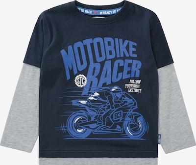STACCATO Sweatshirt in blau / navy / hellgrau, Produktansicht