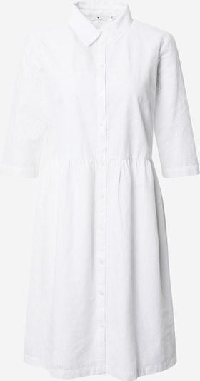 TOM TAILOR Robe-chemise en blanc, Vue avec produit