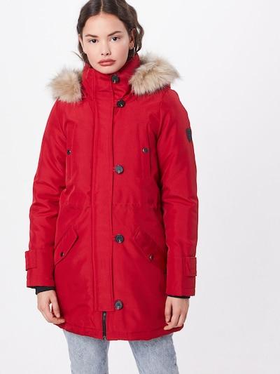 Ilga žieminė striukė 'VMEXCURSION EXPEDITION AW193/4PARKA NOOS' iš VERO MODA , spalva - raudona: Vaizdas iš priekio
