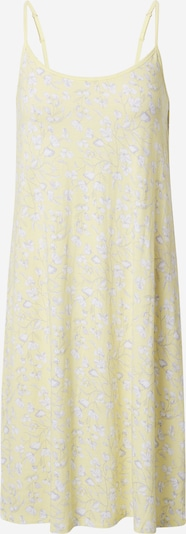 SCHIESSER Pyjamapaita 'Rise Up' värissä pastellinkeltainen / vaaleanharmaa / valkoinen, Tuotenäkymä