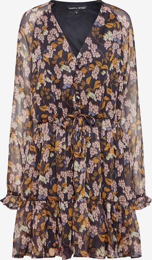 Farina Opoku Sukienka koszulowa 'Rajani' w kolorze granatowy / brązowym, Podgląd produktu