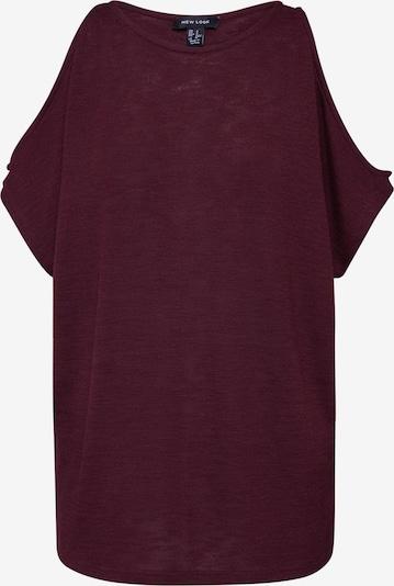 NEW LOOK Shirt 'CS COLD SHOULDER TOP' in de kleur Bourgogne, Productweergave