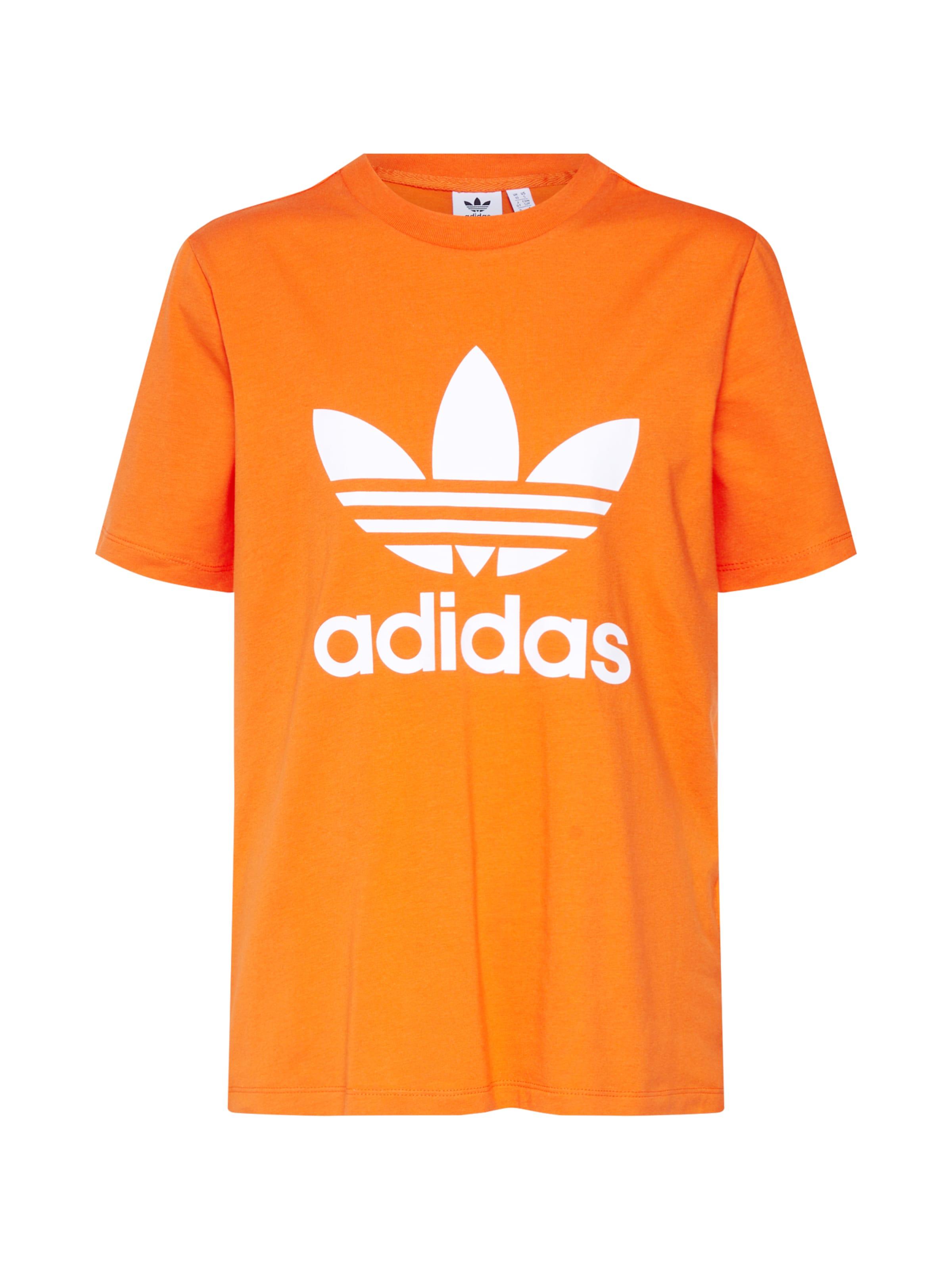 shirt 'trefoil' Orange Adidas Originals En T OPXuZik
