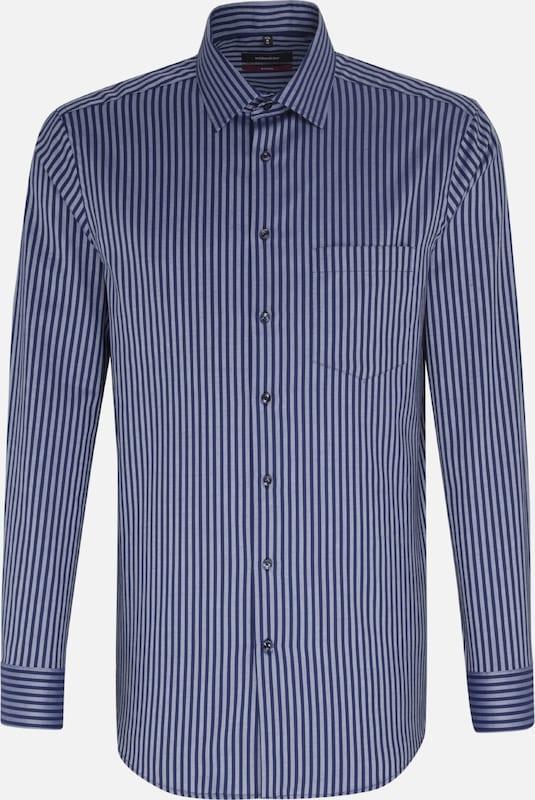 SEIDENSTICKER Business Hemd 'Modern' in hellblau   dunkelblau  Bequem und günstig