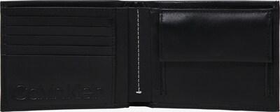 Calvin Klein Geldbörse 'UP 5CC COIN' in schwarz: Draufsicht