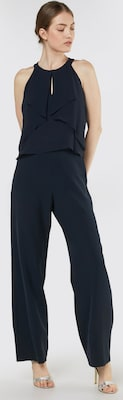 0aa6f8038cf6e9 delicate s.Oliver BLACK LABEL Jumpsuit in Nachtblauw ...