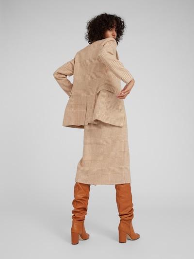 EDITED Svārki 'Steph' pieejami kamieļkrāsas / balts: Aizmugures skats